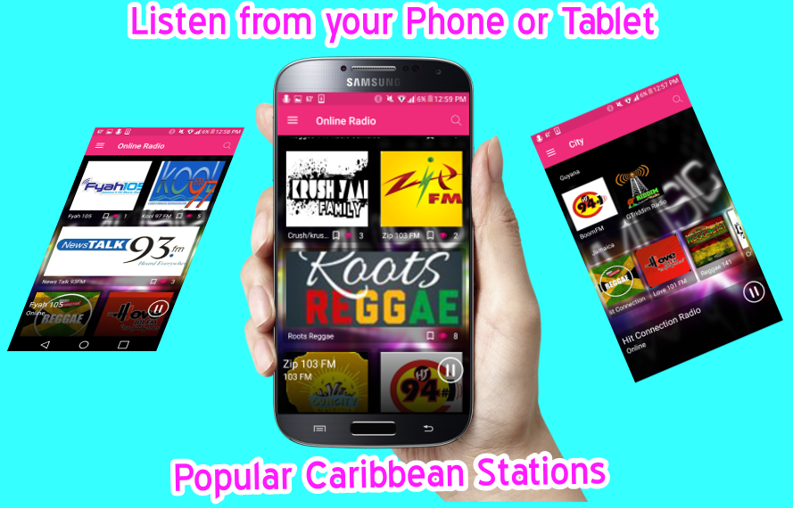 UnityFlex - Caribbean Radio- screenshot