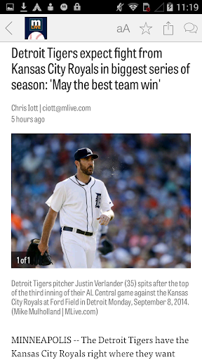 MLive.com: Detroit Tigers News screenshots 3