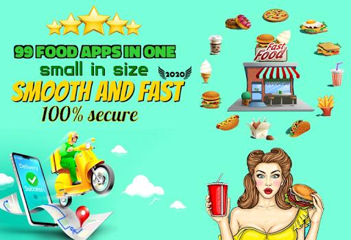 All in One Food Ordering App - Order Online Food ss1
