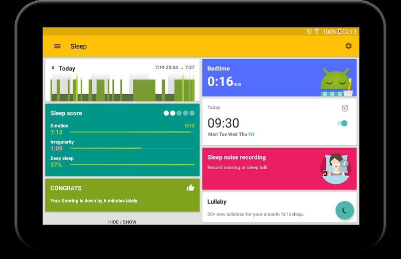Sleep as Android: Sleep cycle tracker, smart alarm Screenshot 14