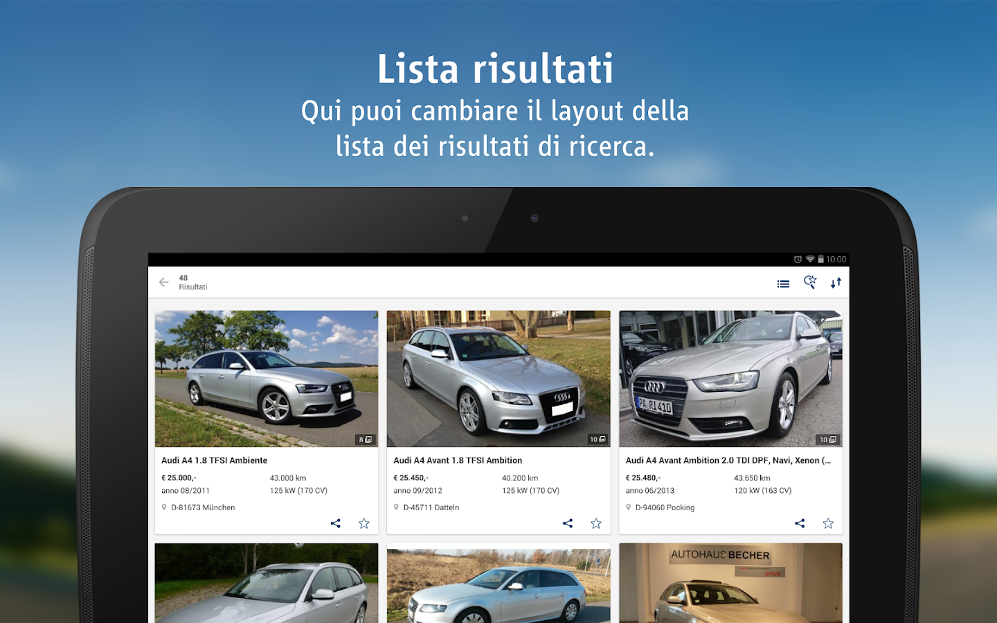 autoscout24 auto usate app android su google play. Black Bedroom Furniture Sets. Home Design Ideas