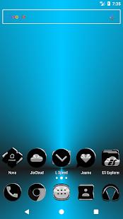 Black Icon Pack v3.0 - náhled