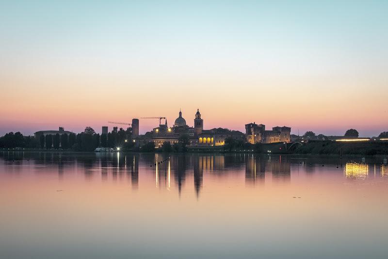 Lo skyline di Mantova di Alessandro Zaniboni Ph