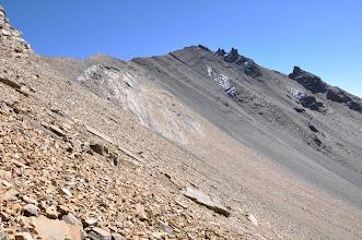 Photo: Dans la descente du Kang La