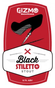 Logo of Gizmo Brew Works Black Stiletto Stout