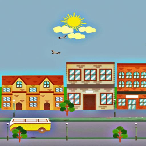 Town LiveWallpaper