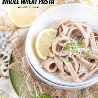 Homemade Whole Wheat Fettuccine