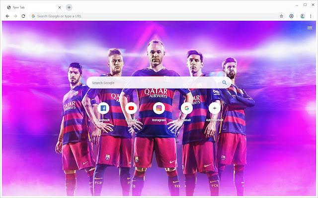 FC Barcelona Wallpapers New Tab