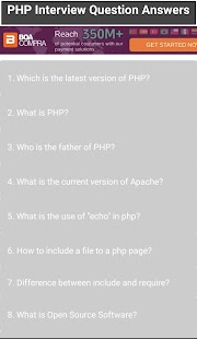 PHP Interview Question & Answer - náhled