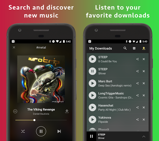 MP3 Music Download Hunter by Tuneself: Apps to stream & download