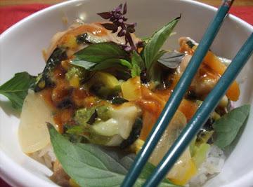 Thai Curried Chicken Or Shrimp (erik Style) Recipe