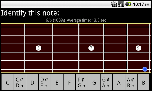 RR Guitar Fretboard Trainer- screenshot thumbnail