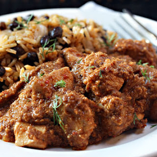 Slow Cooker Chicken In Peanut And Chile Sauce