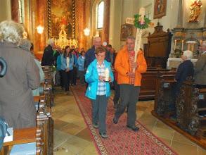 Photo: Ausmarsch aus der Kirche