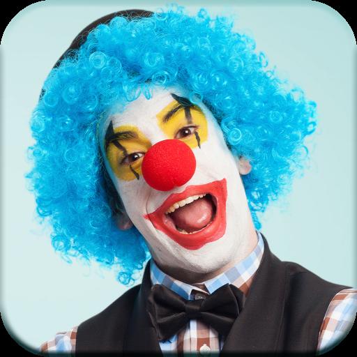 Funny Clown Photo Editor Icon