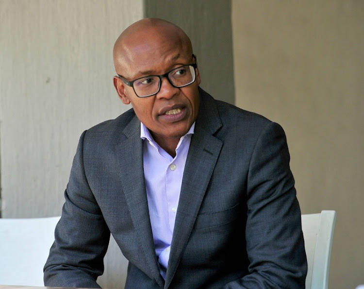 ANN7 and The New Age owner Mzwanele Manyi.