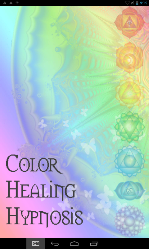 Hypnosis Chakra Color Therapy- screenshot