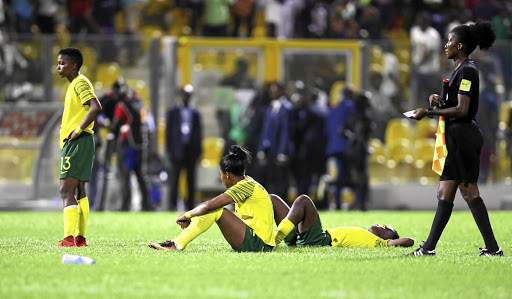 SA lost to Nigeria in the penalty shootout.