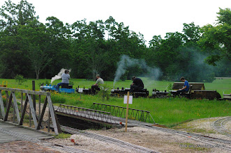 Photo: Quadruple header at Cabin Creek.  HALS-SLWS 2009-0523