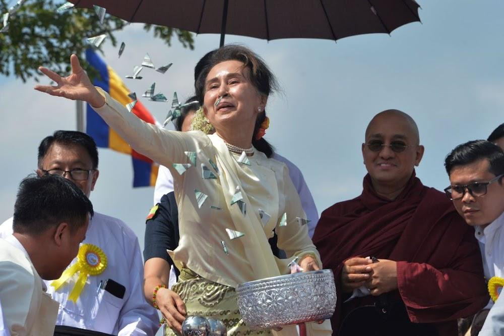 Nobel Laureate Aung San Suu Kyi named in Myanmar war crimes case