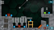 Hexasmash Pro - Wrecking Ball Physics Puzzle game for Android screenshot