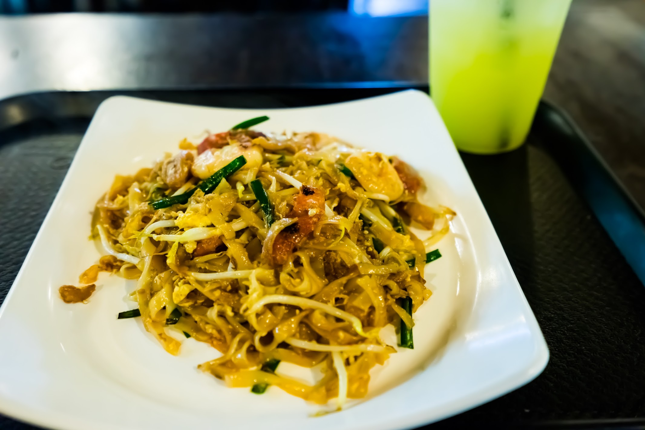 Singapore Sentosa Malaysian Food Street Penang Lim Brothers Char kway teow