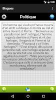 Screenshot of Blagues - French Jokes