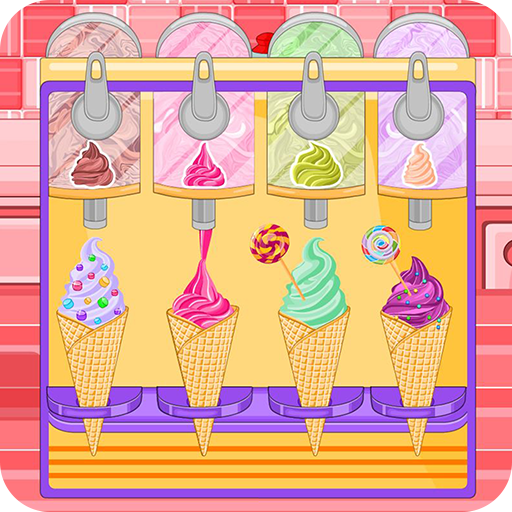 Ice cream cone cupcakes candy (game)