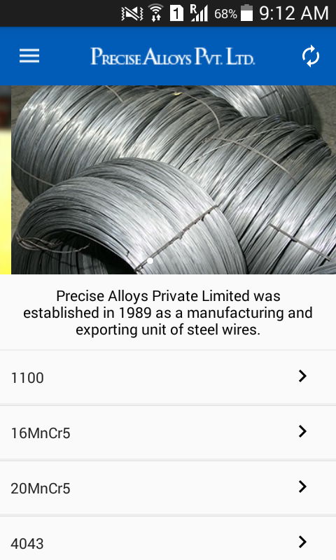 Precise Alloys- screenshot