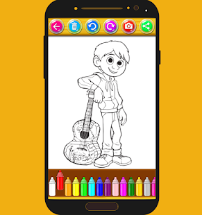 How To color Coco - Coco cartoon - náhled