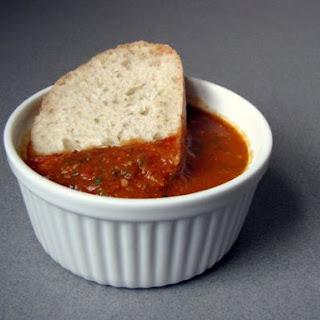 Tomato and Pesto Soup