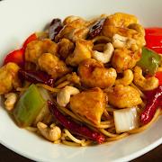 Kung Pao Chicken Spaghetti (Cashew)