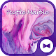 Stylish Wallpaper Purple Marble Theme Download on Windows