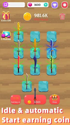 Merge Sword - Idle Blacksmith Master 1.3.4 screenshots 13