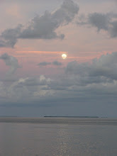 Photo: Moon rising over Key West