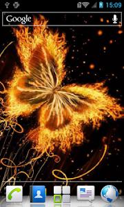Magic butterfly live wallpaper screenshot 2
