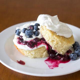 Blueberry Mamon Shortcake