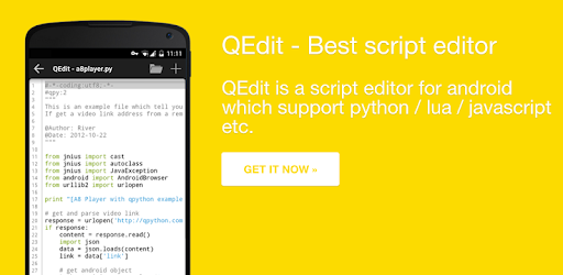 QEdit - Script Editor - Apps on Google Play