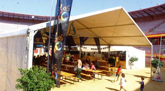 Éxito de la Feria 'Oktoberfest' en Roquetas de Mar