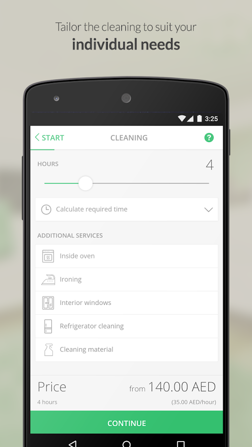 Helpling UAE Cleaning Services- screenshot