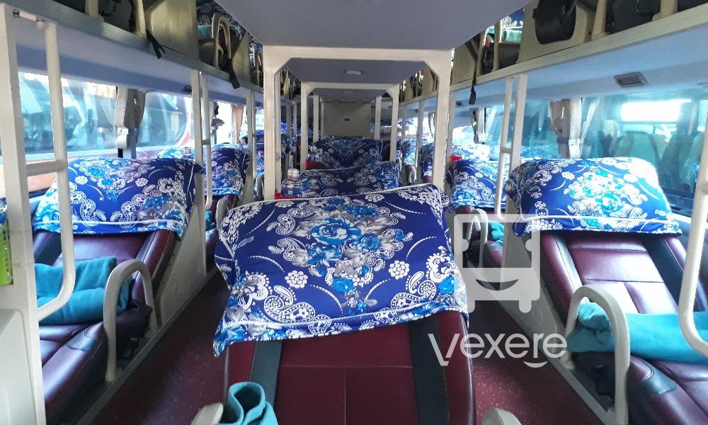 Nội thất xe Thái Sơn đi Dak Lak từ Sài Gòn