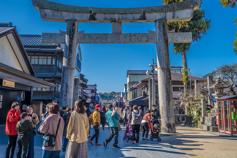 Dazaifu Tenmangu approach2