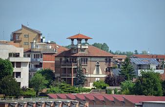 Photo: La zona di corso Milano, sopra i tetti dell'Istituto Tecnico Artom