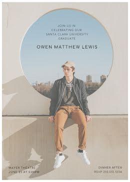 Owen's Graduation Party - Graduation Card item