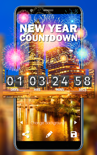 New Year Countdown 2019 1.0 screenshots 1