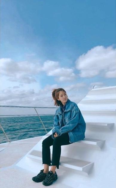 Park Shin Hye On Boat