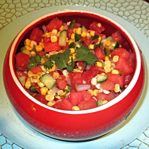 Lone Star State Watermelon Salsa Recipe