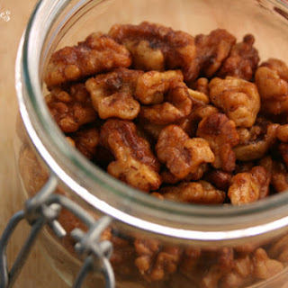 Spiced Candied Walnuts.