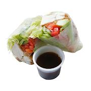 Crispy Chicken & Avocado Ricepaper Roll