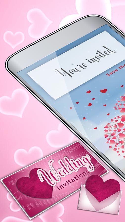 Wedding invitations designer wedding card maker android apps wedding invitations designer wedding card maker screenshot stopboris Gallery